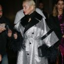 Christina Aguilera – Arrives at LFW Love Magazine and Youtube Party in London