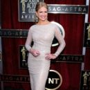 Nancy O'Dell attends the 20th Annual Screen Actors Guild Awards at The Shrine Auditorium on January 18, 2014 in Los Angeles, California - 395 x 594