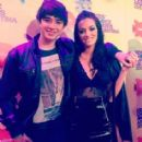 Oriana Sabatini and Julian Serrano- Kids' Choice Awards Argentina 2015