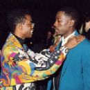 1992 MTV Movie Awards - Chris Rock and Wesley Snipes - 454 x 306