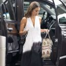 Jessica Alba – Arrives at JFK Airport in New York City