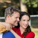 Dylan Neal and Andie MacDowell