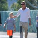 Gavin Rossdale Takes His Boys To The Dog Park