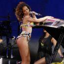 Rihanna Rocks Madrid