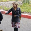Julie Benz - On The Set Of Dexter, Long Beach (10/12/09)