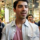 Joe Jonas in his Press Launch in Shangri La, Philippines. (May 23)
