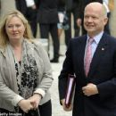 Ffion Hague and William Hague - 454 x 352
