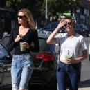 Kristen Stewart and Stella Maxwell out in LA