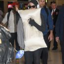 Katy Perry on airport in Australia