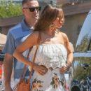 Sofia Vergara in Long Summer Dress – Out in Malibu
