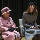 Queen Elizabeth II And The Duchess Of Cambridge Visit King's College London (March 19, 2019) - 454 x 312