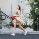Behati Prinsloo – Arrives at Carasoin Day Spa in West Hollywood - 454 x 303