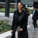 Rochelle Humes – Filming at ITV Studios in London - 454 x 751