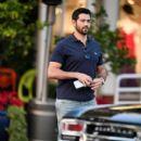 Jesse Metcalfe is seen in Los Angeles, California