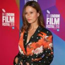 Rhona Mitra – 'The Fight' Premiere at 62nd BFI London Film Festival - 454 x 653