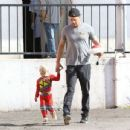 Josh Duhamel- August 18, 2016- Josh Duhamel Has Breakfast With Son Axl