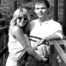 Samantha Fox and Peter Foster