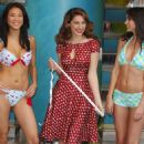Kelly Brook - Launches Her Exclusive New Swimwear Range At New Look