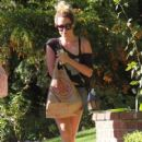 Ashley Tisdale: shopping at Trader Joe's in Toluca Lake