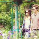 Torrey Devitto and Paul Wesley