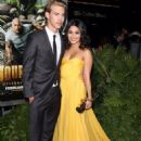 Vanessa Hudgens and Austin butler at Journey 2: The Mysterious Island Premiere in Los Angeles