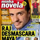 Rodrigo Lombardi, India - A Love Story - Minha Novela Magazine Cover [Brazil] (21 August 2009)