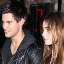 Taylor Lautner Talks Kristen Stewart & Lily Collins' Snow Whites