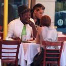 Will i Am And A Mystery Girl Out For Lunch