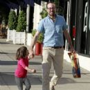 Jason Lee And Daughter Casper Shopping At American Rag - 454 x 581