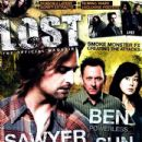 Josh Holloway, Michael Emerson, Yunjin Kim - Lost Magazine Cover [United States] (April 2010)