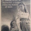 Quand sonnera midi - Cine Revelation Magazine Pictorial [France] (3 October 1957) - 454 x 762