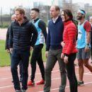 Prince William, Duchess Catherine and Harry visited London Marathon Day - 454 x 544