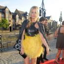 Laura Whitmore Uk Fashion Textile Awards In London
