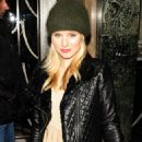 Kristen Bell returns to her London hotel 11-12-2010