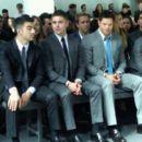At Calvin Klein Show