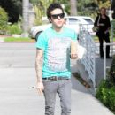 Pete Wentz - Out and About (January 26) - 454 x 624