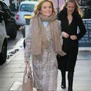 Geri Halliwell – Arriving at Charlotte Street Hotel in London - 454 x 681