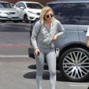 Chloe Moretz in tight leggings out in Beverly Hills - 454 x 547
