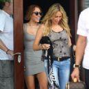 Miley Cyrus TIGHT GREY DRESS SEXY