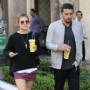 Lucy Hale  spotted out shopping at The Grove in Los Angeles, California on March 31, 2016 - 454 x 497