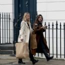 Jenna Louise Coleman and Dianna Agron – Shopping in London - 454 x 534
