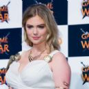Kate Upton Game Of War Fire Age Promotional Event In Busan