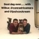 Conrad Ricamora + photoshoot with Wilbur and Joshua Cockream (September 22, 2018)