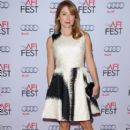 Actress Sasha Alexander attends the special tribute to Sophia Loren during the AFI FEST 2014 presented by Audi at Dolby Theatre on November 12, 2014 in Hollywood, California