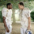 Wood Harris and Ryan Hurst in Walt Disney Pictures' Remember The Titans - 2000