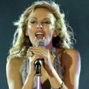 Kylie Minogue - Performing In Giza, Egypt - Oct 21 2010