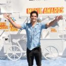 Tyler Posey attends The 2015 MTV Movie Awards at Nokia Theatre L.A. Live on April 12, 2015 in Los Angeles, California