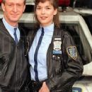 Simone Bendix as Officer Jane Castle in Space Precinct - 244 x 661