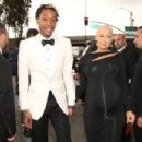 Amber Rose and Wiz Khalifa arrive at the 55th Annual GRAMMY Awards at the Staples Center in Los Angeles, California - February 10, 2013 - 454 x 303