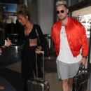 Leona Lewis – Arriving at LAX Airport in Los Angeles - 454 x 591